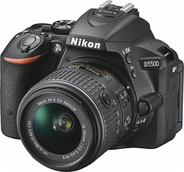 Nikon D5500 Best Vlogging Camera