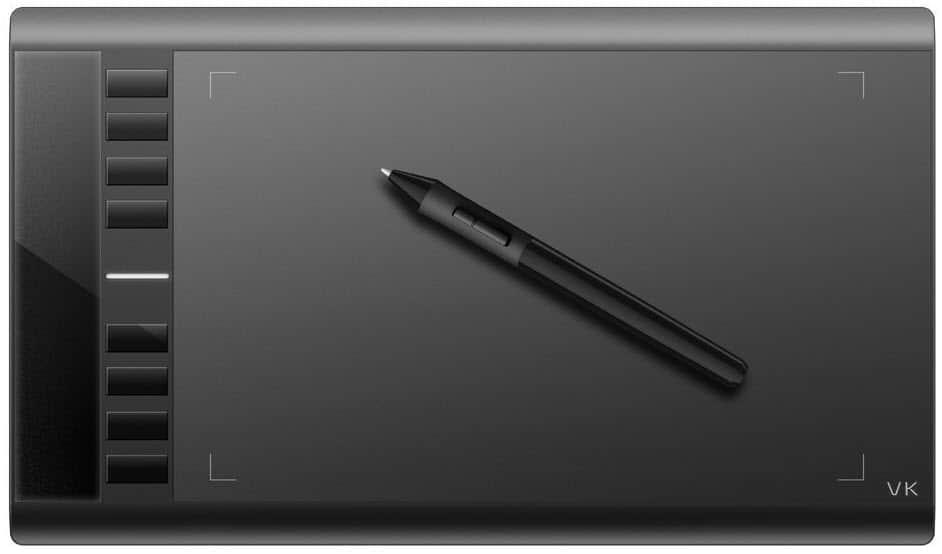 Ugee M708 best tablet for digital drawing