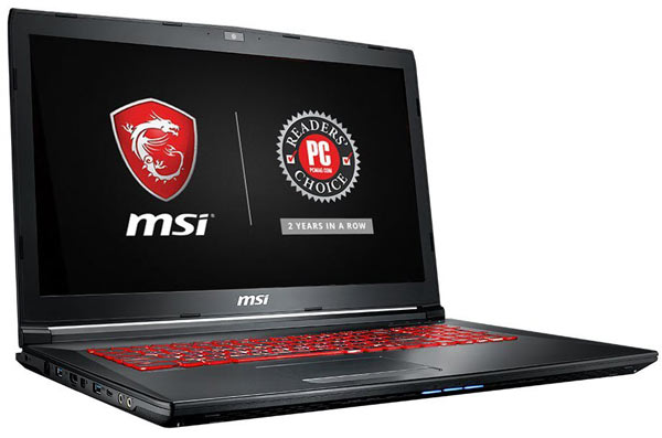 MSI GL62M good laptop for hacking