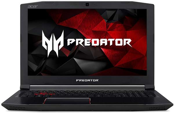 Acer Predator Helios 300 high end best laptop for drawing