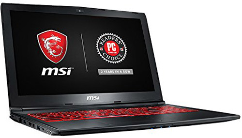 MSI GL62M best laptop for animation 2018