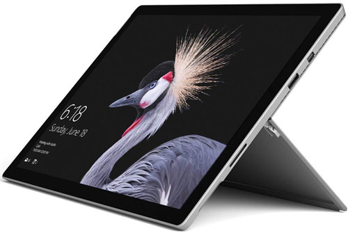 Microsoft Surface Pro digital art laptop